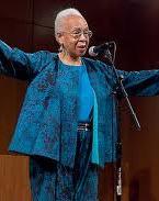 Dr. Joyce Duncan storyteller and member of the Pearls of Wisdom