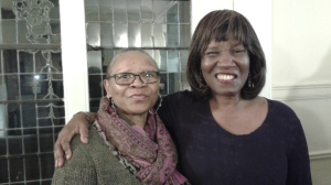 Lorraine Currelley, Founder/Executuve Director Poets Network & Exchange, Inc. with Poet Patricia Smith