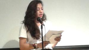 Poet Sabrina Glaus,